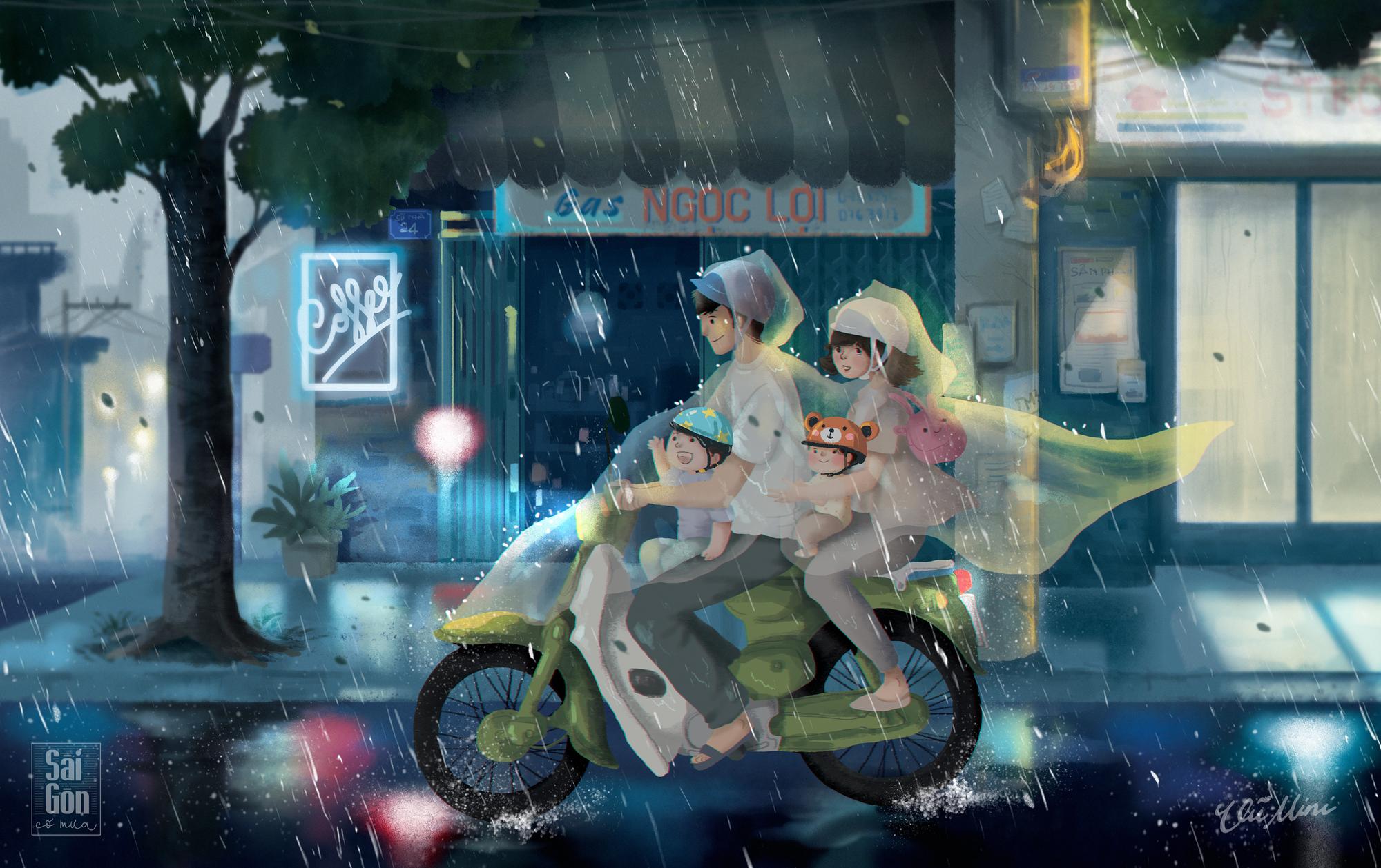Sài Gòn có mưa: Dự án siêu dễ thương khiến bạn sẽ yêu hơn những