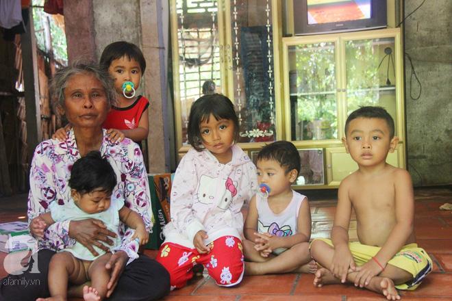 Phép màu kỳ diệu đến với gia đình ông bà ngoại nuôi 5 đứa trẻ nheo nhóc, khóc thét vì khát sữa tại Trà Vinh - Ảnh 1.