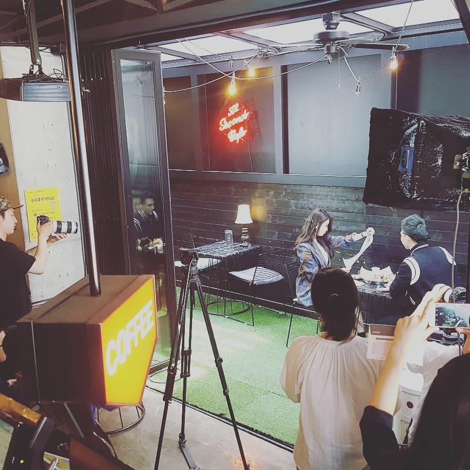 Hé lộ loạt hình ảnh hot Soobin Hoàng Sơn đang quay MV mới cùng Jiyeon ở Hàn Quốc - Ảnh 5.