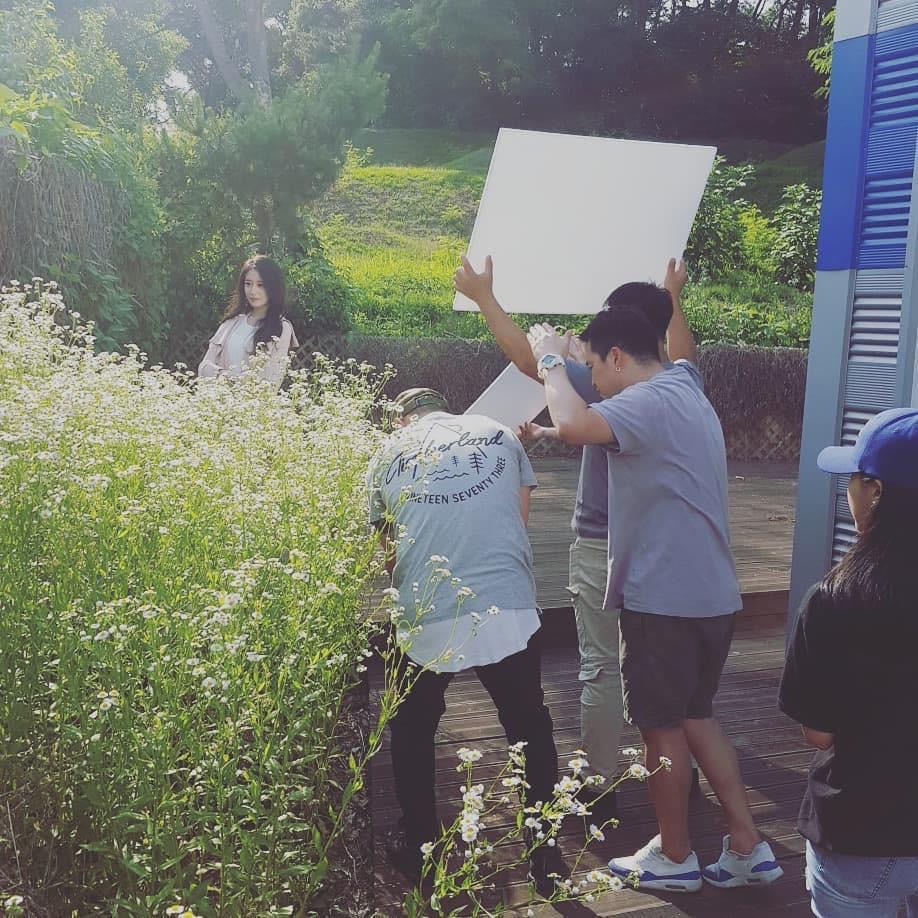 Hé lộ loạt hình ảnh hot Soobin Hoàng Sơn đang quay MV mới cùng Jiyeon ở Hàn Quốc - Ảnh 3.