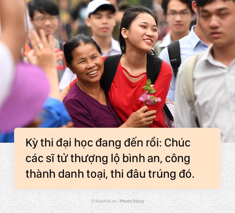 Ăn xôi gấc, đi chùa, xin chữ và những việc phải làm để đem lại may mắn trong kì thi Đại học - Ảnh 13.