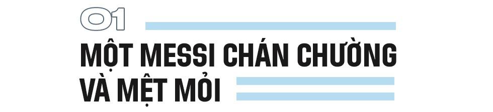 Không có vinh quang cho Messi, bởi anh không đổ máu vì nó - Ảnh 2.