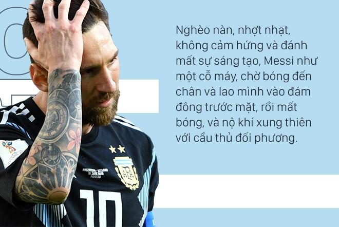 Không có vinh quang cho Messi, bởi anh không đổ máu vì nó - Ảnh 3.