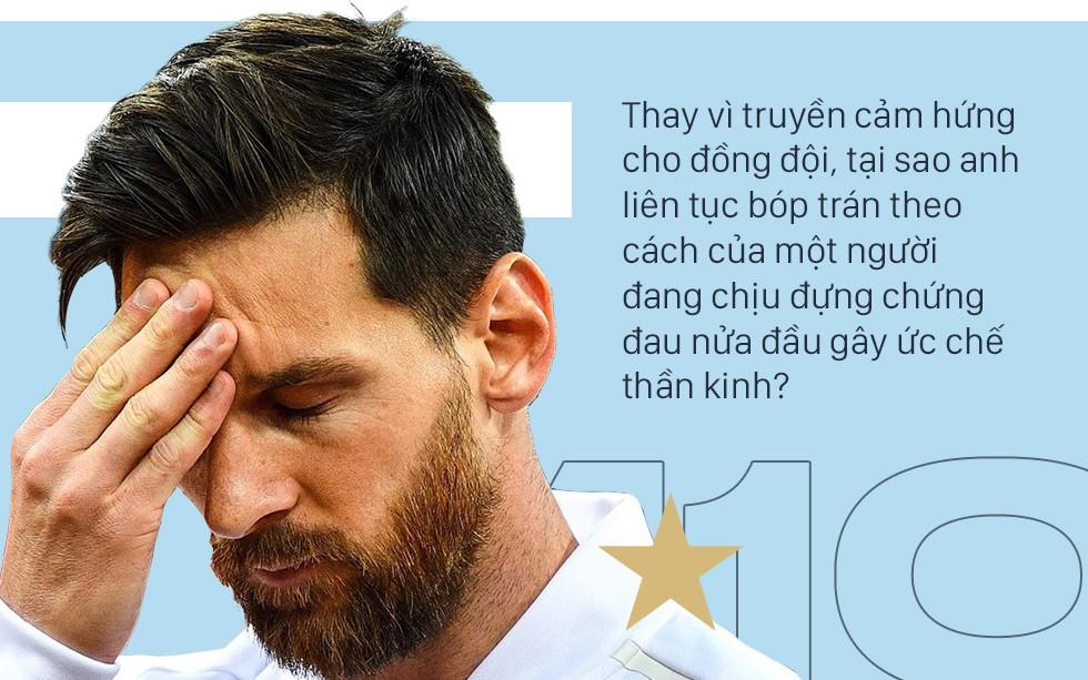 Không có vinh quang cho Messi, bởi anh không đổ máu vì nó - Ảnh 8.