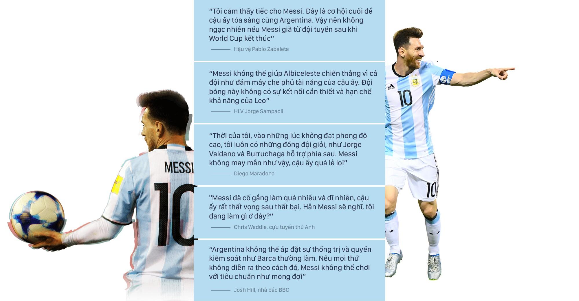 Không có vinh quang cho Messi, bởi anh không đổ máu vì nó - Ảnh 15.