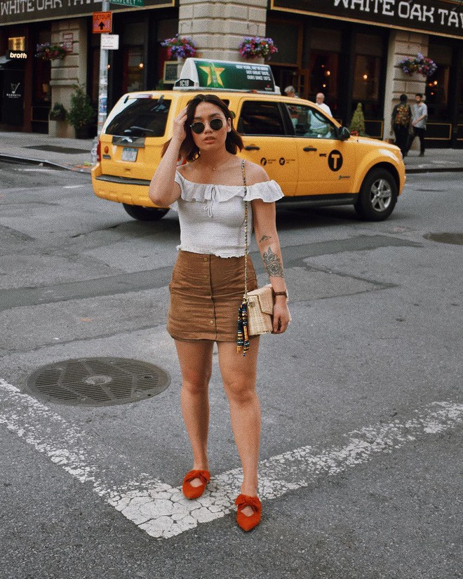 Dù đùi to nhưng cô nàng blogger này vẫn tự tin mặc đẹp nhờ 4 bí kíp đơn giản - Ảnh 4.