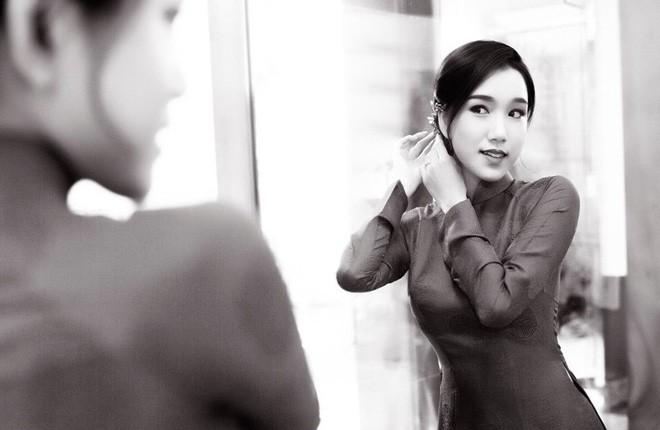 Từ cô nàng đen nhẻm, em gái Hoa hậu Thùy Lâm giờ đã là gái một con xinh đẹp rạng ngời - Ảnh 7.