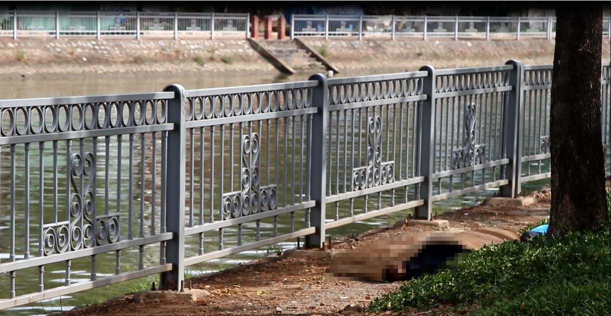 Dân câu vứt cần câu bỏ chạy khi phát hiện thi thể trôi người trên kênh Tàu Hủ - Ảnh 2.
