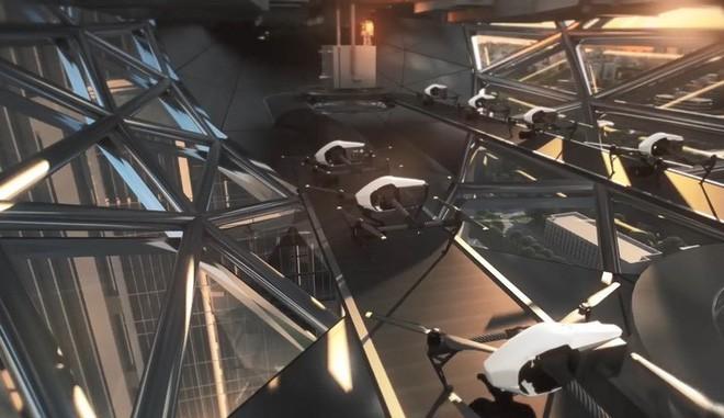 Trụ sở mới của ông trùm sản xuất drone DJI sẽ thách thức mọi định nghĩa về không gian làm việc - Ảnh 8.