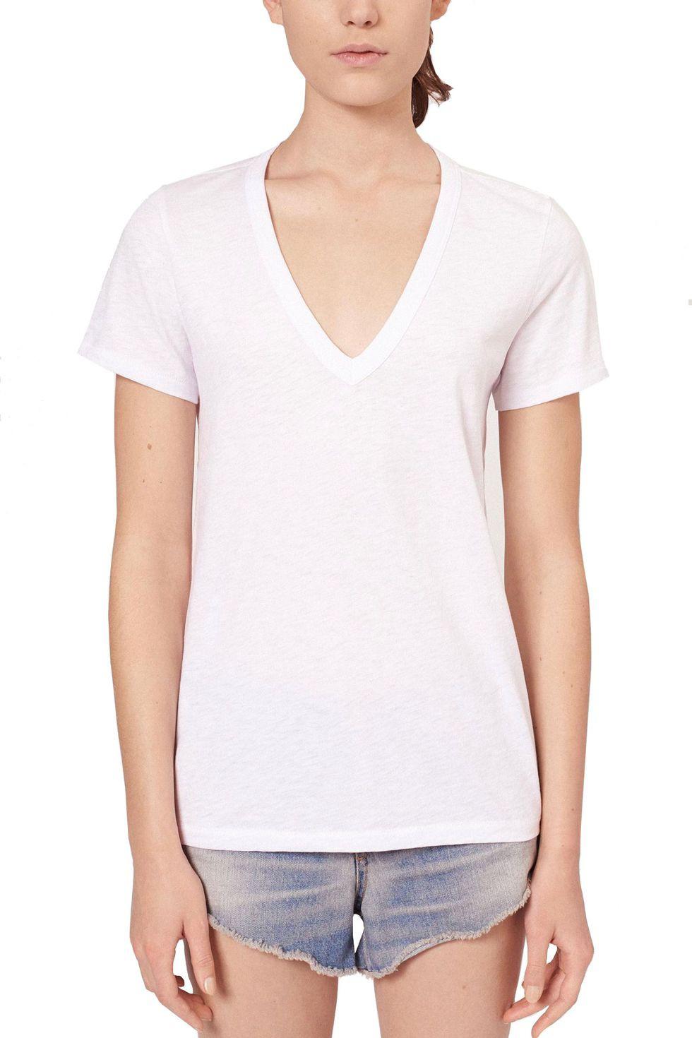 7 chiếc áo phông trắng được các BTV thời trang đánh giá là hoàn hảo, trong đó có chiếc chỉ hơn 200k - Ảnh 6.