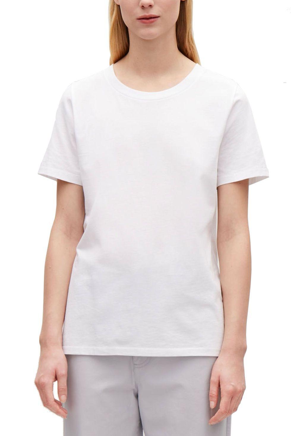 7 chiếc áo phông trắng được các BTV thời trang đánh giá là hoàn hảo, trong đó có chiếc chỉ hơn 200k - Ảnh 1.