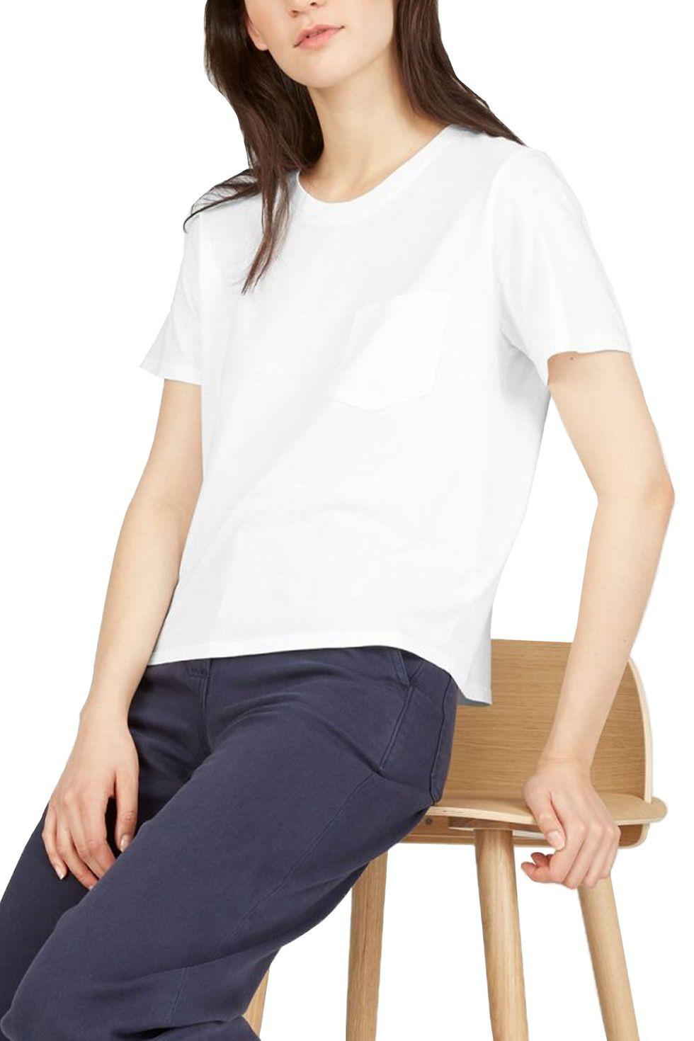 7 chiếc áo phông trắng được các BTV thời trang đánh giá là hoàn hảo, trong đó có chiếc chỉ hơn 200k - Ảnh 3.