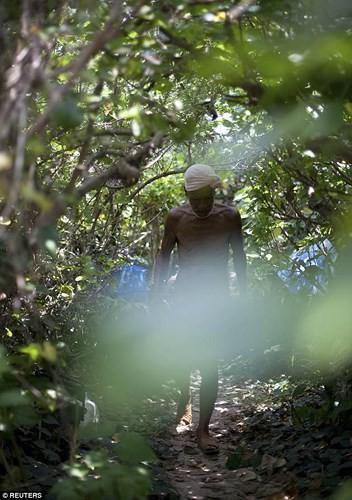 Cuộc sống trên hoang đảo không mảnh vải che thân của cụ ông 82 tuổi - Ảnh 7.