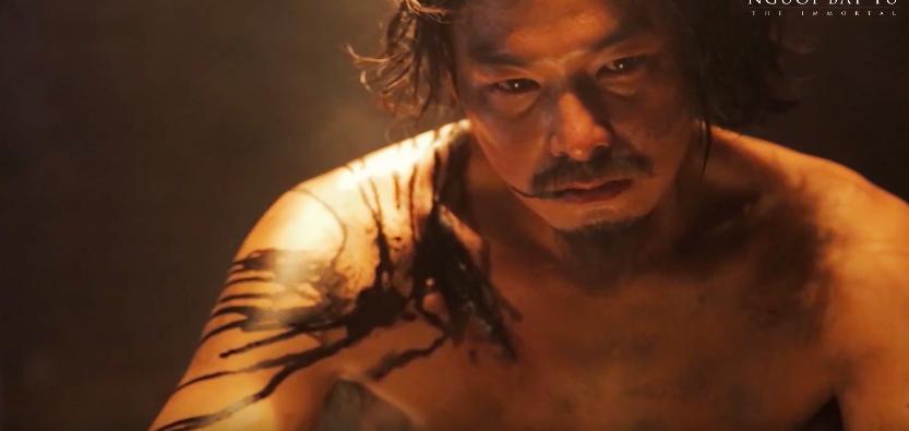 Người Bất Tử của Victor Vũ tung clip hậu trường đầy máu ấn tượng - Ảnh 4.