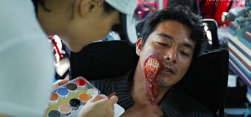 Người Bất Tử của Victor Vũ tung clip hậu trường đầy máu ấn tượng - Ảnh 8.