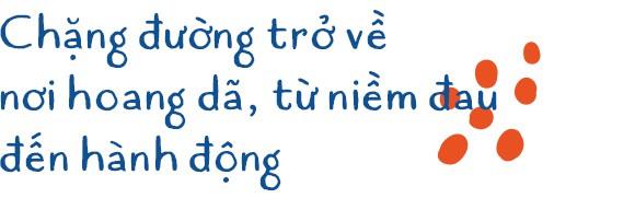 Cô gái tê giác Nguyễn Thu Trang: Cô gái bé nhỏ mang trong mình tình yêu khổng lồ với động vật hoang dã - Ảnh 3.