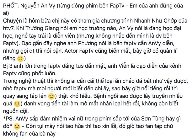 Xôn xao nghi án An Vy FapTV nói dối, mắc bệnh ngôi sao sau khi nổi tiếng vì được hợp tác cùng Sơn Tùng M-TP - Ảnh 4.