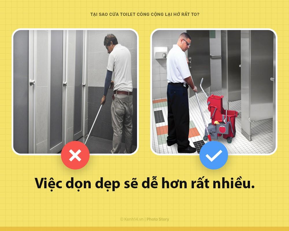 7 lý do vì sao cửa toilet công cộng phải để khoảng hở to đến vô duyên ngược lối, ai cũng gật gù với điều thứ 3 - Ảnh 2.