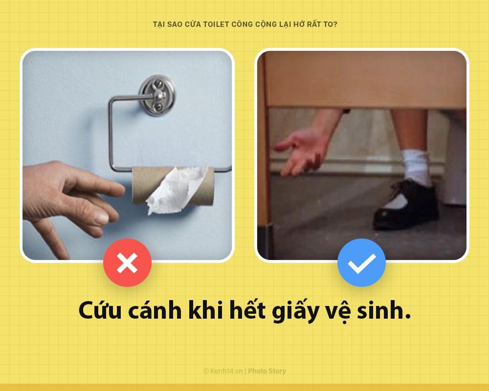 7 lý do vì sao cửa toilet công cộng phải để khoảng hở to đến vô duyên ngược lối, ai cũng gật gù với điều thứ 3 - Ảnh 8.