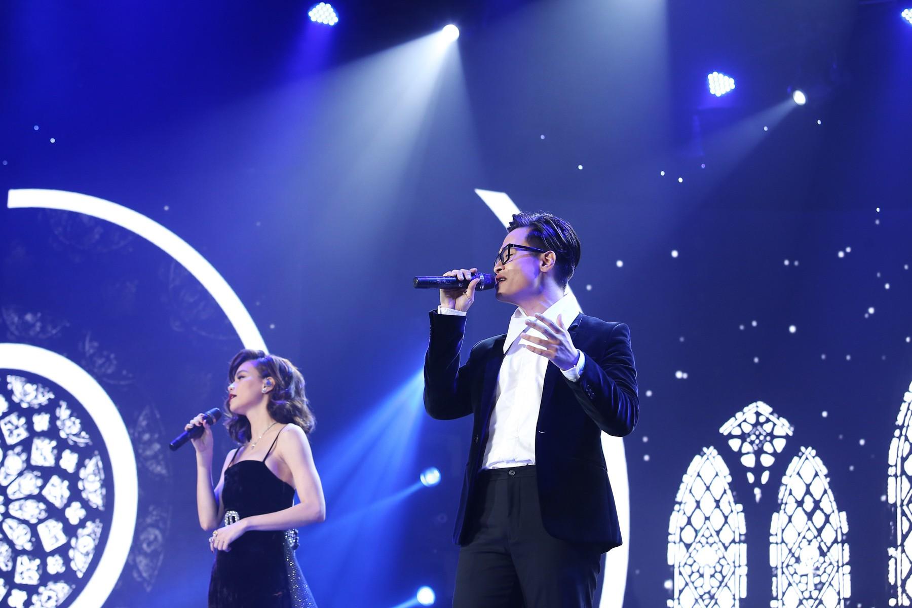 Hà Anh Tuấn tái hợp Hồ Ngọc Hà sau 4 năm, gây thổn thức khi đổi hit của nhau - Ảnh 8.