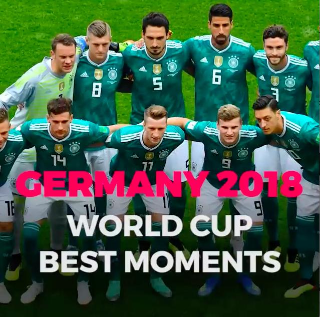 Video hot nhất ngày: Khoảnh khắc đẹp nhất của đội tuyển Đức tại World Cup 2018 - Ảnh 1.