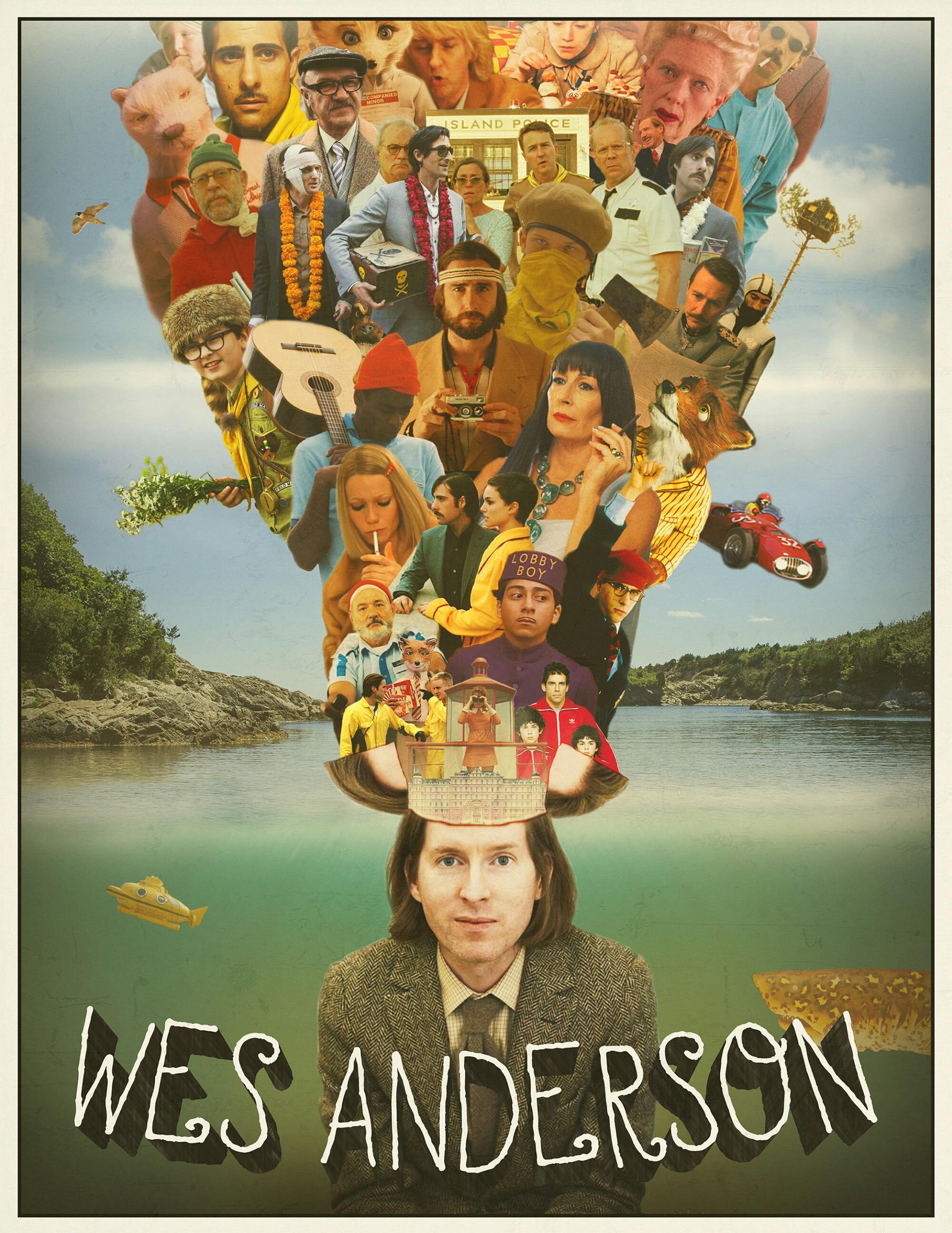 Để cảm xúc đưa lối qua bảng màu dị thường từ phù thuỷ hình ảnh Wes Anderson - Ảnh 1.