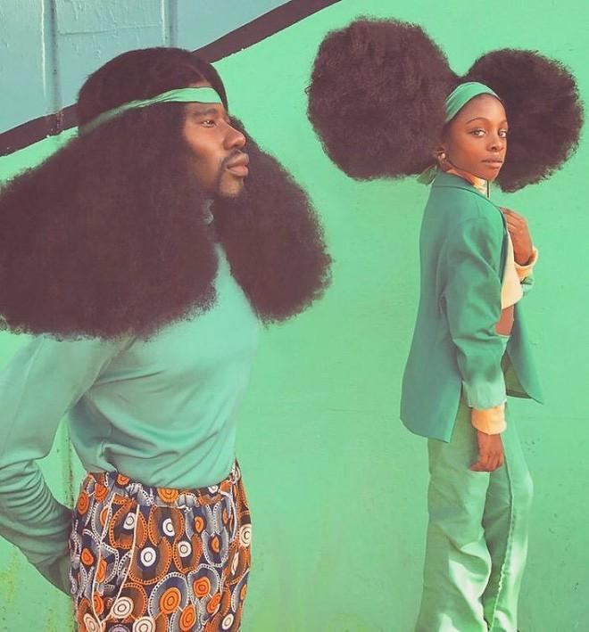 Chùm ảnh: Cặp bố con xác lập kỷ lục thế giới vì bộ tóc bông xù đầy ấn tượng và câu chuyện phía sau khiến mọi người thầm thán phục - Ảnh 10.