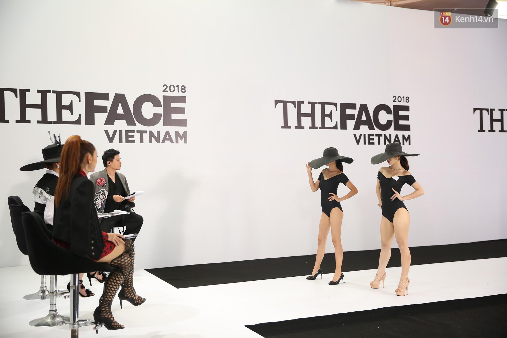 The Face thi hình thể: Trai xinh gái đẹp khoe body hấp dẫn, có thí sinh đầu tiên ngất xỉu - Ảnh 5.