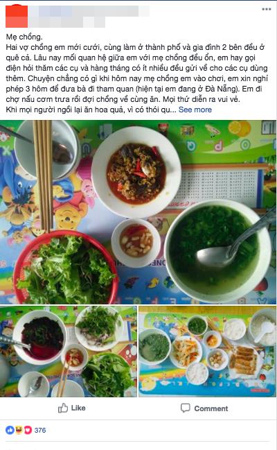 Mẹ chồng sầm mặt mắng con dâu keo kiệt, găm tiền đem về nhà đẻ khi nhìn ảnh chụp những bữa ăn toàn rau xanh hàng ngày - Ảnh 1.