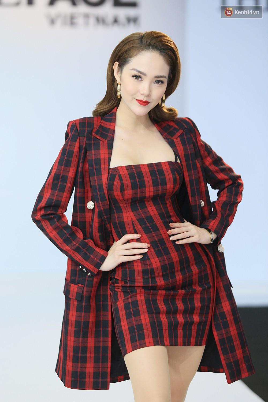 """Thanh Hằng đeo đồng hồ 2 tỷ, Võ Hoàng Yến """"ton sur ton"""" Nam Trung tại casting The Face ở Hà Nội - Ảnh 7."""