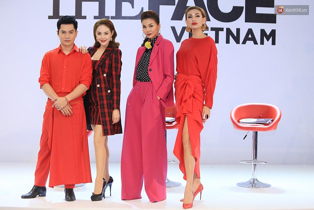 """Thanh Hằng đeo đồng hồ 2 tỷ, Võ Hoàng Yến """"ton sur ton"""" Nam Trung tại casting The Face ở Hà Nội - Ảnh 10."""