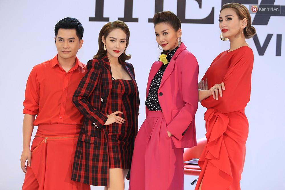 """Thanh Hằng đeo đồng hồ 2 tỷ, Võ Hoàng Yến """"ton sur ton"""" Nam Trung tại casting The Face ở Hà Nội - Ảnh 11."""