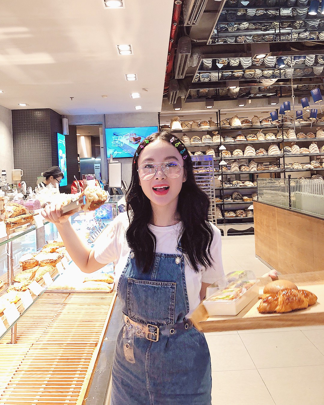 Kẹp tóc màu sắc từ thời ơ kìa bỗng hot trở lại, hot girl Hàn - Việt đều thi nhau dùng - Ảnh 5.