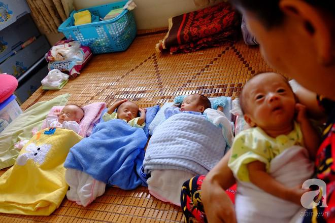 """Mẹ trẻ ở Nghệ An bất chấp lời khuyên của bác sĩ giữ lại tứ thai: """"Trời cho rồi, nhất quyết không bỏ - Ảnh 11."""