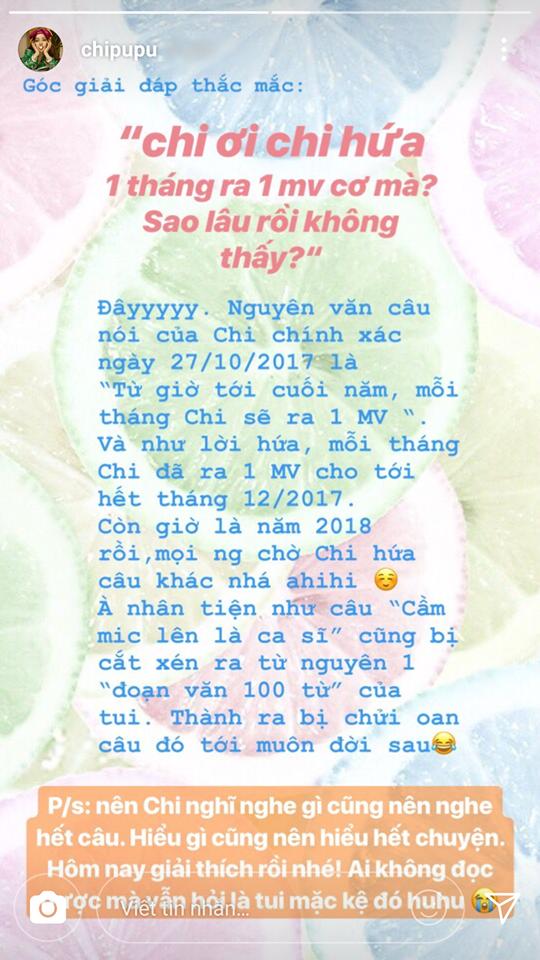 Tiếp bước Chi Pu, một loạt ca sĩ Việt cùng nhau tuyên bố: Mỗi tháng ra 1 sản phẩm - Ảnh 1.