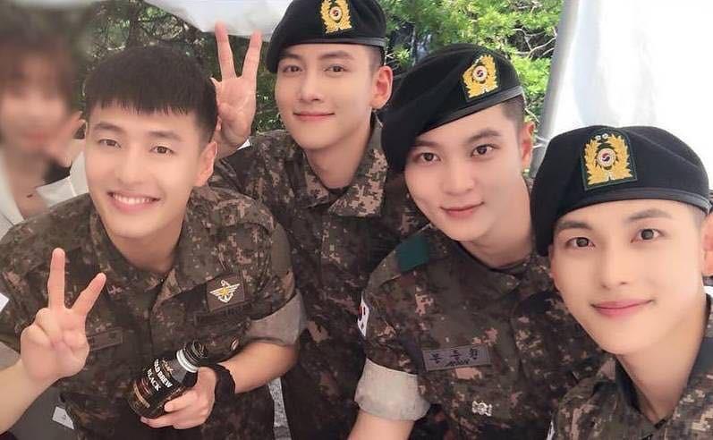 Ji Chang Wook, Im Siwan, Kang Ha Neul, Joo Won: F4 của quân ngũ - Ảnh 14.