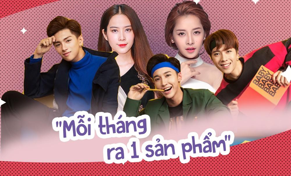 Tiếp bước Chi Pu, một loạt ca sĩ Việt cùng nhau tuyên bố: Mỗi tháng ra 1 sản phẩm - Ảnh 2.