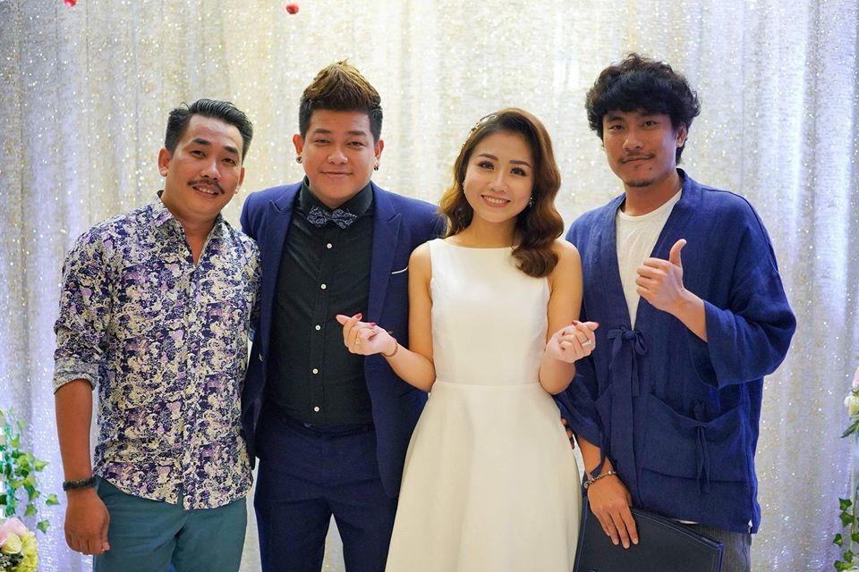 Clip: Hoài Linh vừa hát Túp lều lý tưởng, vừa nhảy tưng bừng tại đám cưới đàn em - Ảnh 3.