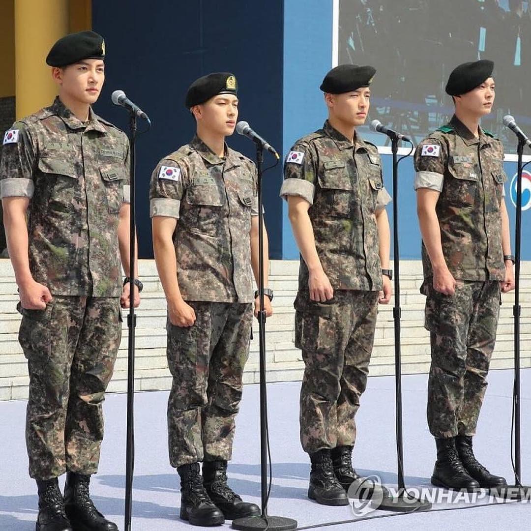 Ji Chang Wook, Im Siwan, Kang Ha Neul, Joo Won: F4 của quân ngũ - Ảnh 4.