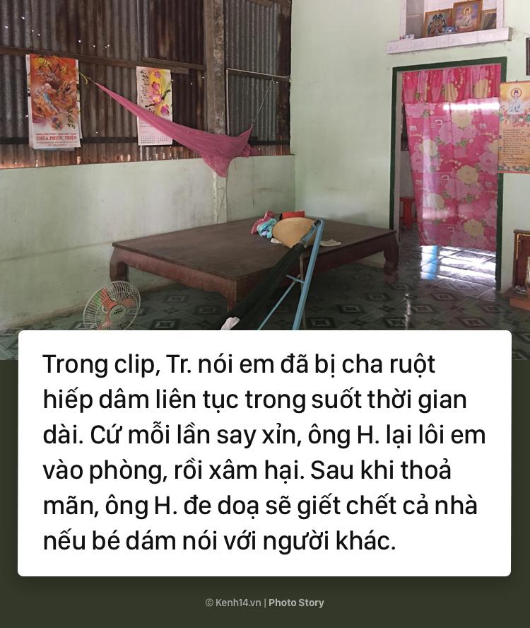 Từ đoạn clip bé gái 10 tuổi kể chuyện bị xâm hại tình dục đến lệnh bắt khẩn cấp người cha ruột - Ảnh 5.