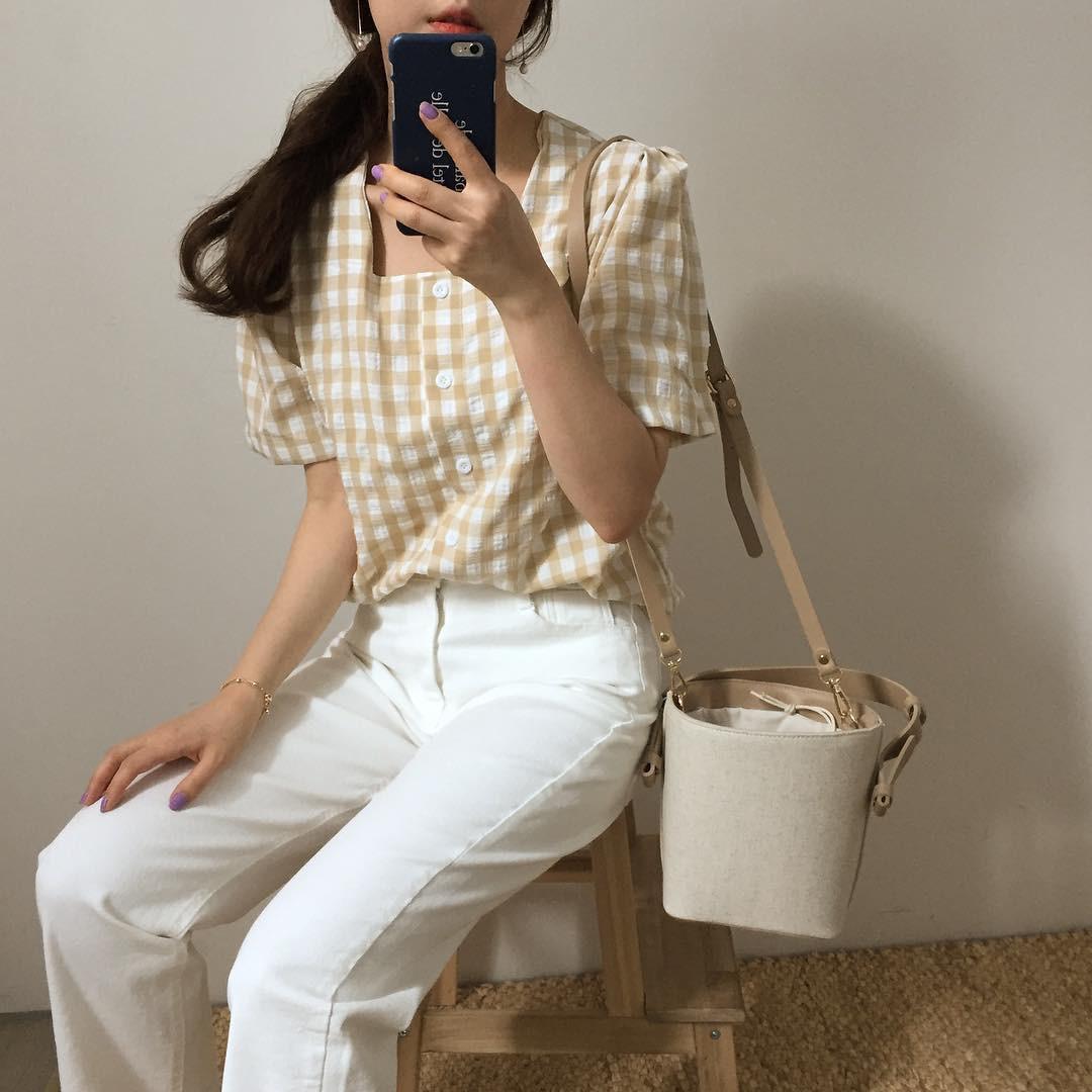 Nếu đã chán jeans xanh hay đen cơ bản, bạn hãy sắm ngay jeans trắng - chiếc quần hot hit của mùa hè này - Ảnh 6.
