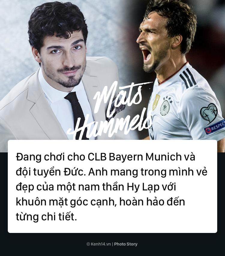 Griezmann, Reus và những cầu thủ điển trai nhất World Cup 2018 - Ảnh 6.