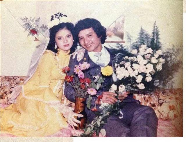Ngắm loạt ảnh cưới những năm 80 - 90, bạn có nhận ra đây là sao Việt nào? - Ảnh 4.