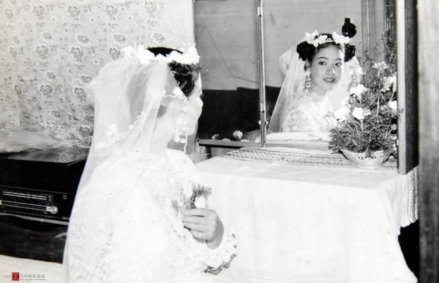 Ngắm loạt ảnh cưới những năm 80 - 90, bạn có nhận ra đây là sao Việt nào? - Ảnh 6.