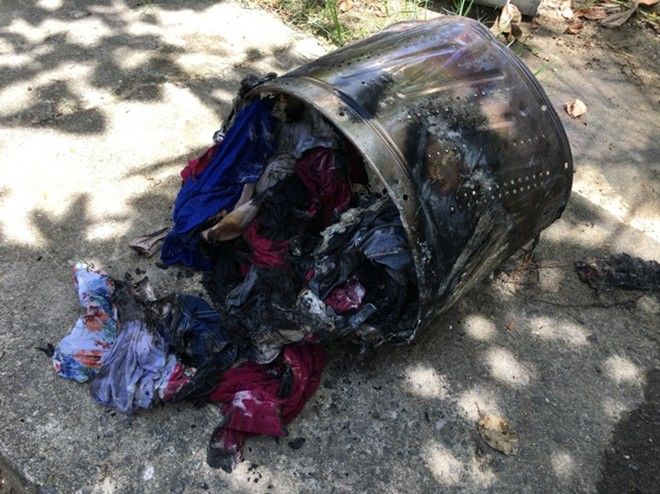 HY HỮU: Suýt cháy nhà do... máy giặt quá tải - Ảnh 2.