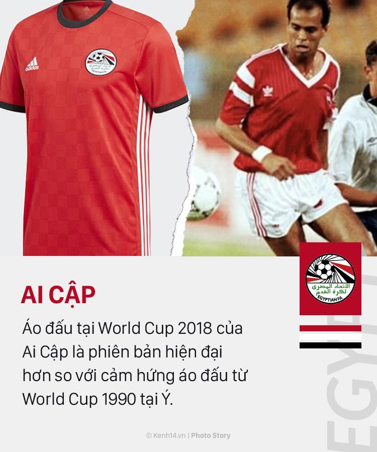 Áo đấu ở World Cup 2018: Khi mốt thời trang quay vòng - Ảnh 17.