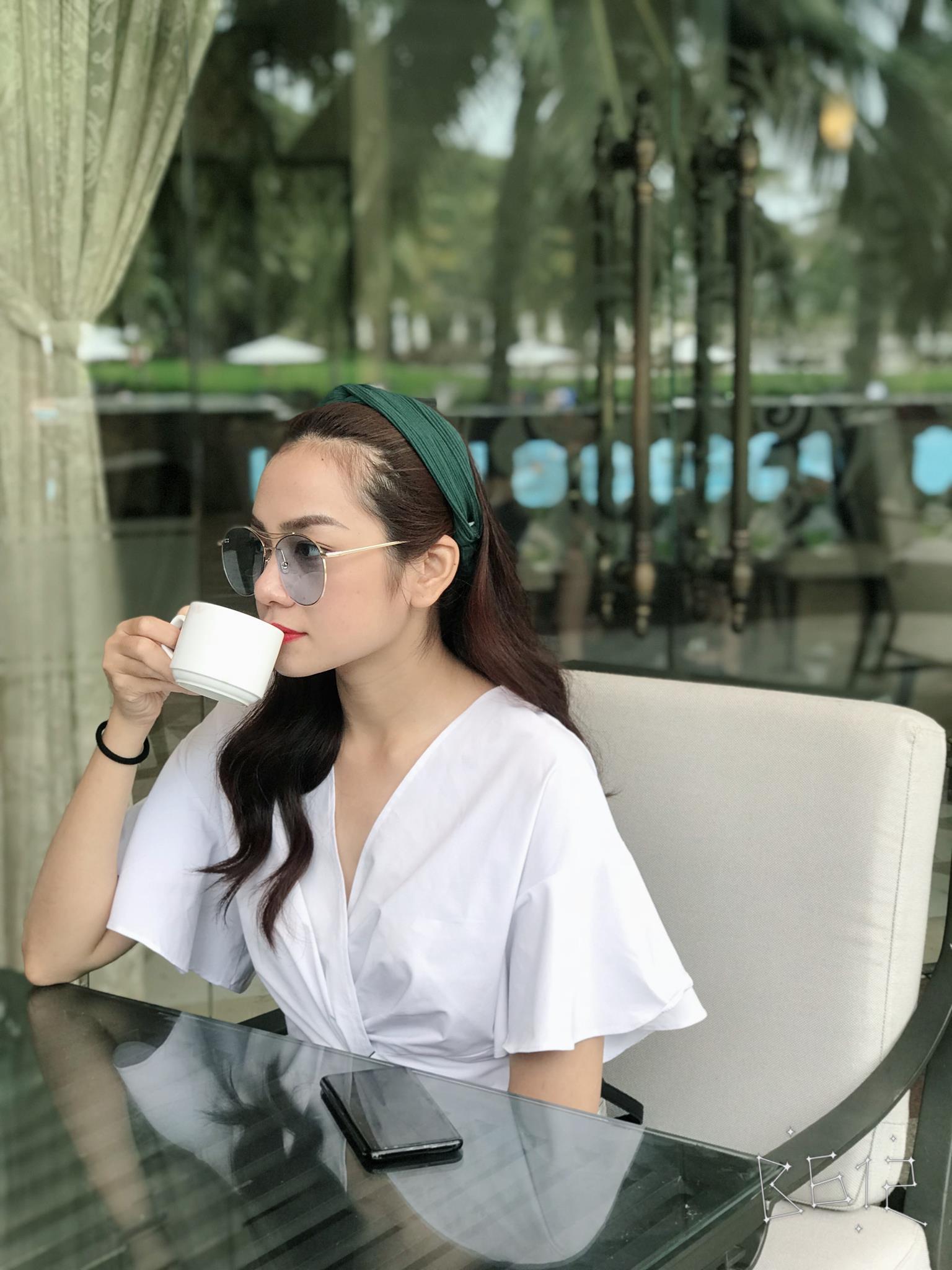Cận cảnh nhan sắc chuẩn hotgirl của em dâu Minh Hằng - Ảnh 7.