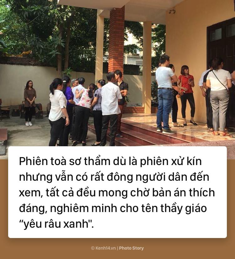 Xét xử sơ thầm vụ án thầy giáo dâm ô học sinh lớp 3 tại Hà Nội - Ảnh 9.