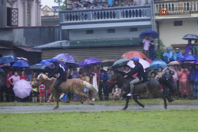 Bất chấp cơn mưa tầm tã, gần 50.000 lượt người đội mưa xem đua ngựa ở Bắc Hà - Ảnh 7.