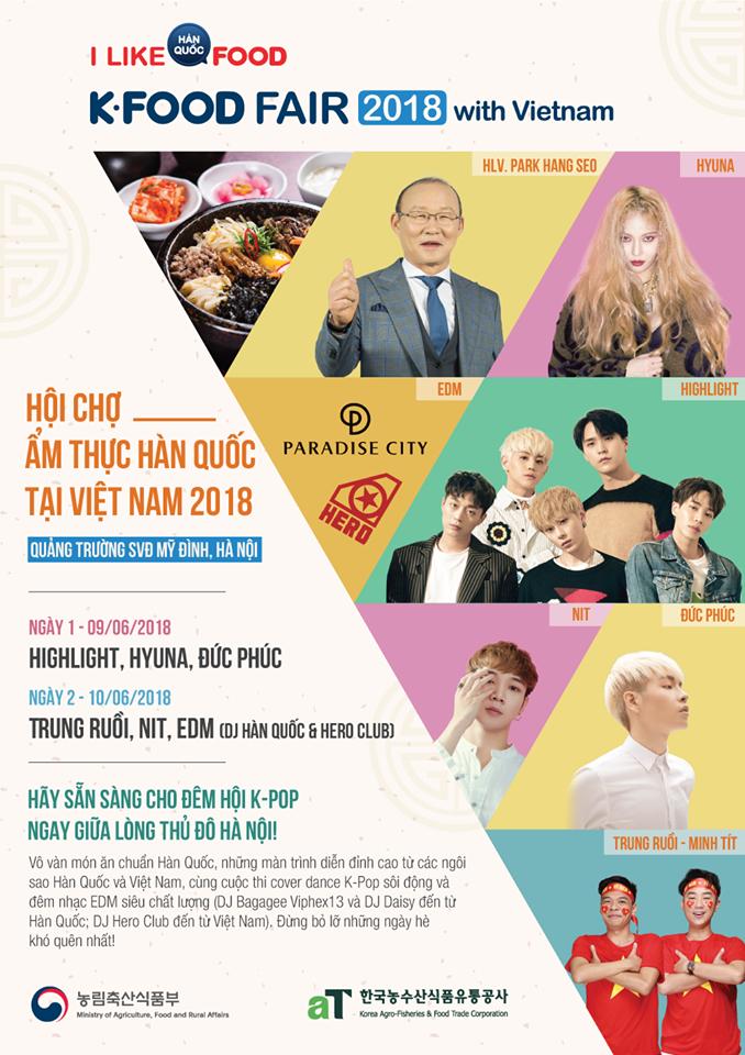 K-Food Fair 2018: Highlight bất ngờ diễn lại hit từ thời còn là B2ST, fanchant nổi da gà! - Ảnh 1.